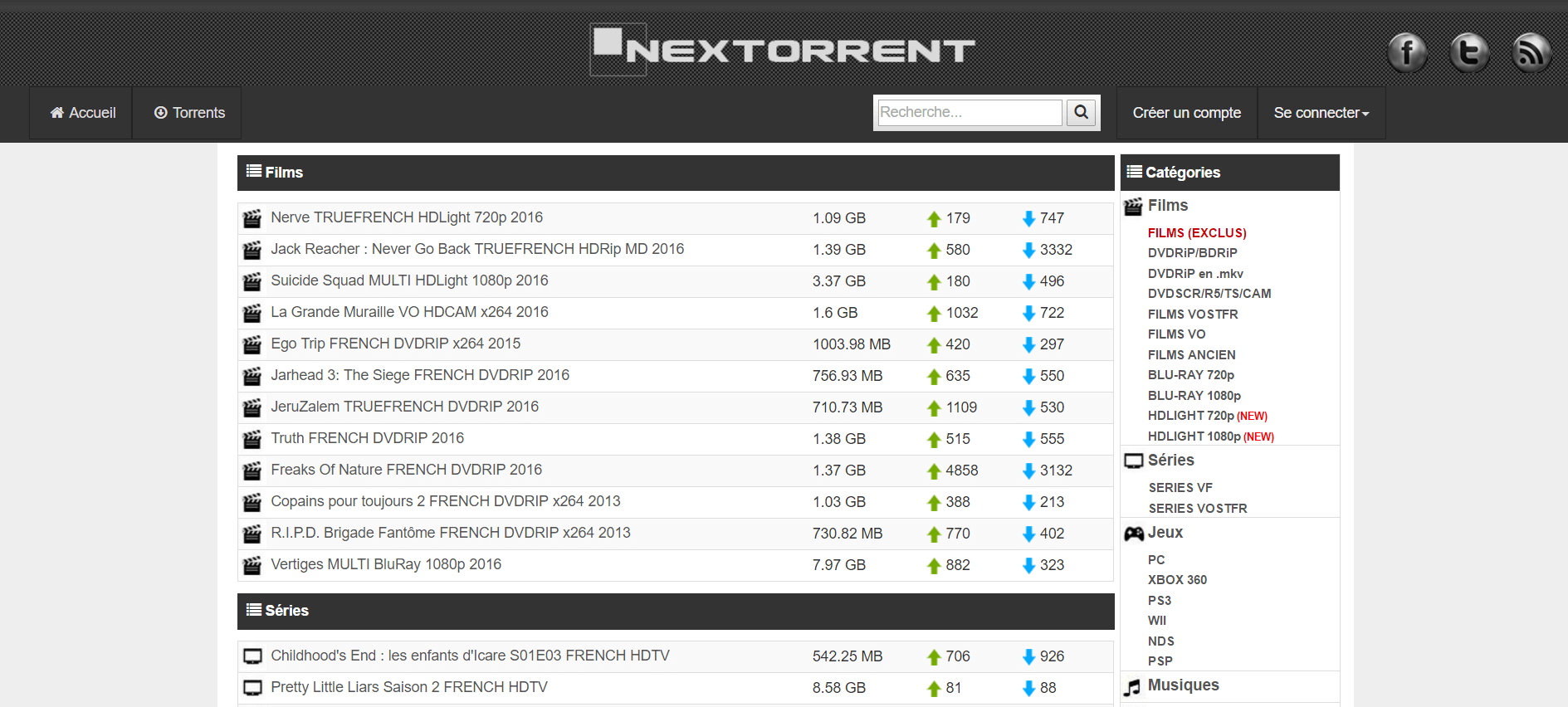 Nextorrent